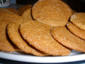 cane syrup cookies