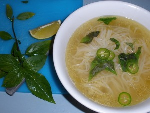 homemade pho ga