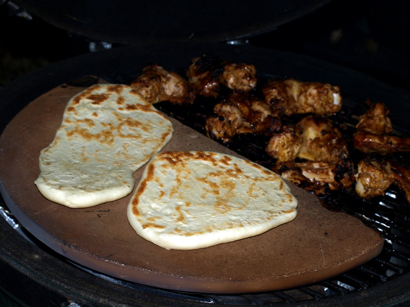 Naan on the Big Green Egg | Bouillie
