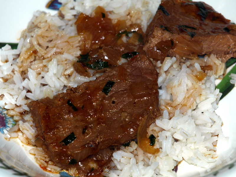 Rice and gravy | Bouillie
