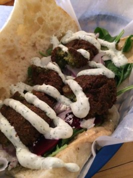 most excellent felafel, from Kebab NOLA